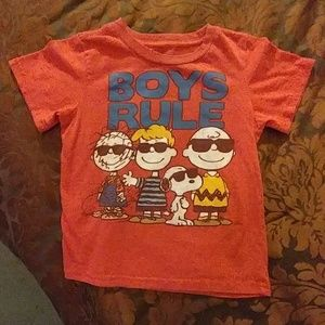 Other - Charlie Brown boys Tee shirt.