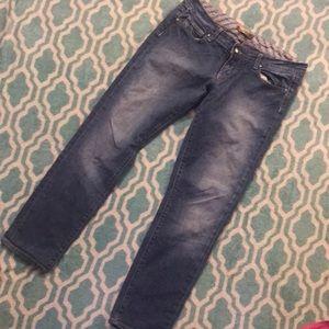 Paige Premium Denim Size 29 Crop Ankle Jeans