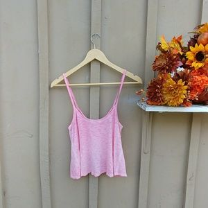 Pink Heather Tank Top
