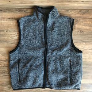 Vintage J.Crew Fleece Vest Size M Medium