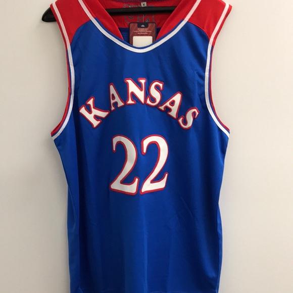 d19db123d NWT Andrew Wiggins Kansas NCAA Jersey Medium
