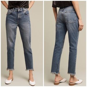 Anthropologie Pilcro Tilde High Rise Jeans