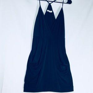 BCBGeneration Deep Navy Slouch Mini Dress Small