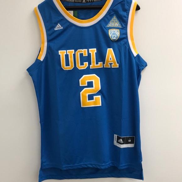 finest selection 8b47d ed205 NWT Lonzo Ball UCLA NCAA adidas Jersey Medium NWT
