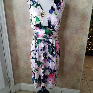 Ralph Lauren Floral Dress Size 12