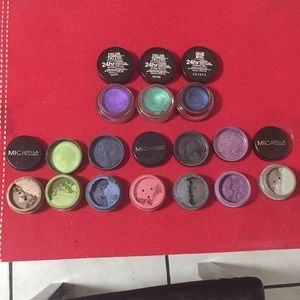 Eyeshadows  maybelline color tattoo micabella