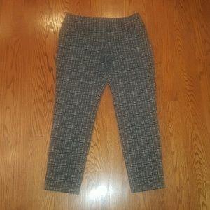 LOFT Julie skinny stretch career pants 4