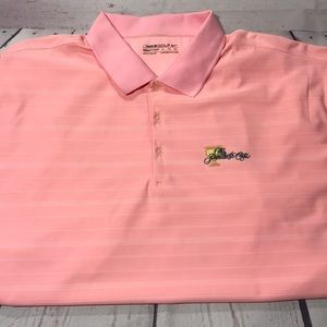 Nike FitDRY Golf Men Presidents Cup Pink Polo XL