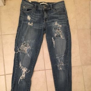 Los Angeles KanCan jeans (27W , short)