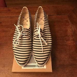 Anthropologie oxfords size 40, EUC, worn once