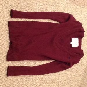 Abercrombie Maroon Sweater