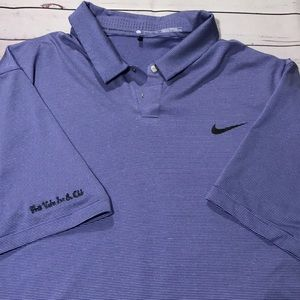 Tiger Woods Collection Nike DRI-FIT Polo Shirt XL