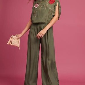Seen worn kept Irelyn embroidered jumpsuit