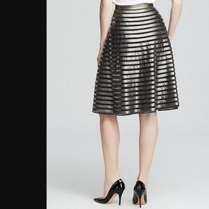 Catherine Malandrino | NWOT Gracie Metallic Skirt