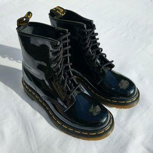 Dr. Martens 1460 Black Patent 8-Eye Boot