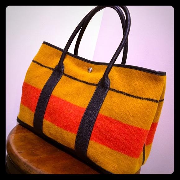 Hermes Handbags - HERMES Garden Party 36 in Excellent MINT Condition 51783fec759ad