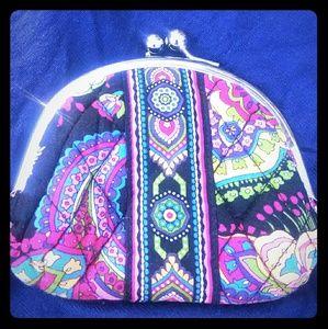 Vera Bradley change pouch