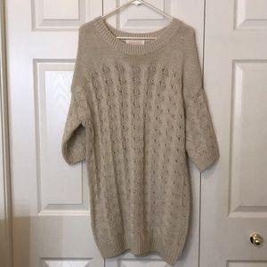 Dresses & Skirts - Long oversized Wool sweater dress!
