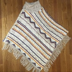 New Directions XL Sweater Poncho