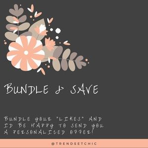 Other - BUNDLE & SAVE 🖤
