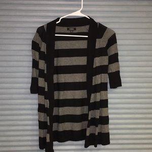 Express open cardigan sweater