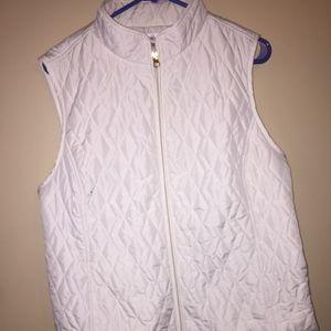 NWOT White Vest