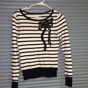 Adorable Delia's sequin bow sweater