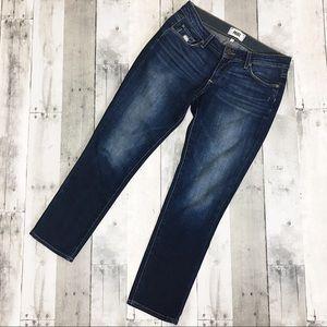Paige Jimmy Jimmy Crop Jeans Distressed