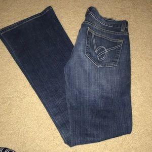 Bebe Flare Leg Jean