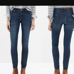 Madewell High riser skinny skinny jeans size 30