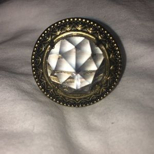 Grand vintage style cocktail ring