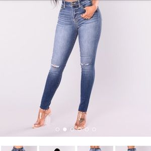 Booty popping jeans