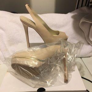 Aldo mesiano heels shoes size 7