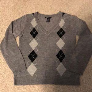 New York & Company Argyle Sweater