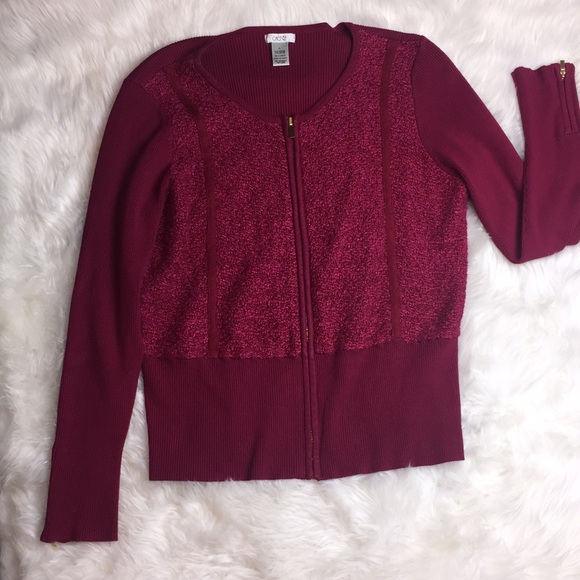 85% off cache Sweaters - Brand new w/o tags Cache Maroon Color ...
