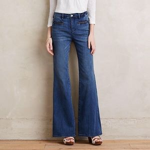 Pilcro and the Letterpress Stet Flare Jeans