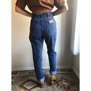 [vintage] Wrangler women's cut high waist jeans