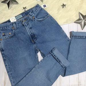 Gap jeans original fit ankle sandblasted blue 0
