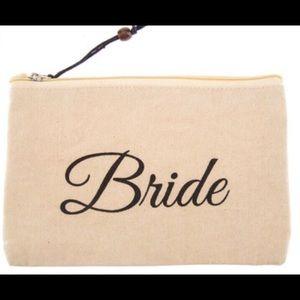 """Handbags - ^NWT* """"Bride"""" Cosmetics Bag with top zip"""