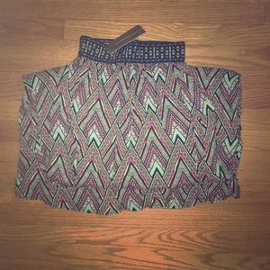 Francesca's : Tribal Print Maxi Skirt