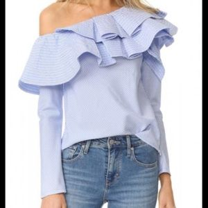 H&M off shoulder long sleeve top. NWT