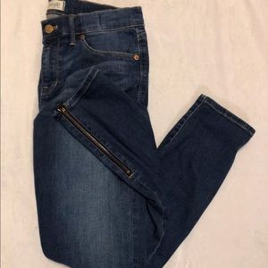 Madewell Skinny Jeans Size 28 Zipper Ankles