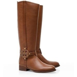 Tory Burch Amanda Riding Boots in Brown