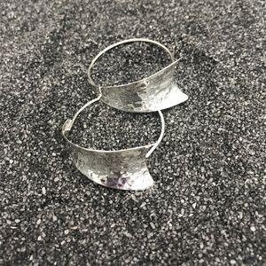 .925 Sterling Silver Hoops