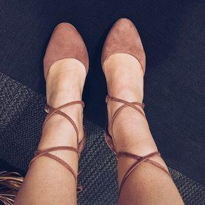 Anne Klein Lace-Up Heels