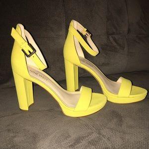 Nine West block heels - Size 5