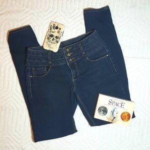Denim Skinny Jeans, Size 7 Juniors