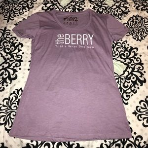 the Berry that's what she saw purple t shirt