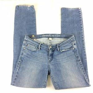 Abercrombie Light Wash Size 8 Skinny Jeans