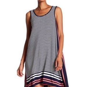 "MAX STUDIO ""Stripe Tank"" Trapeze Dress (S)"